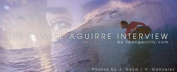 Spongercity.com Eunate Aguirre Interview
