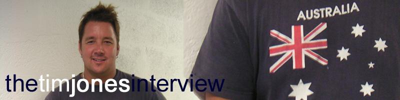 Tim Jones Spongercity Interview